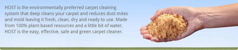 Host Enviromentally Preferred Carpet Cleaning System