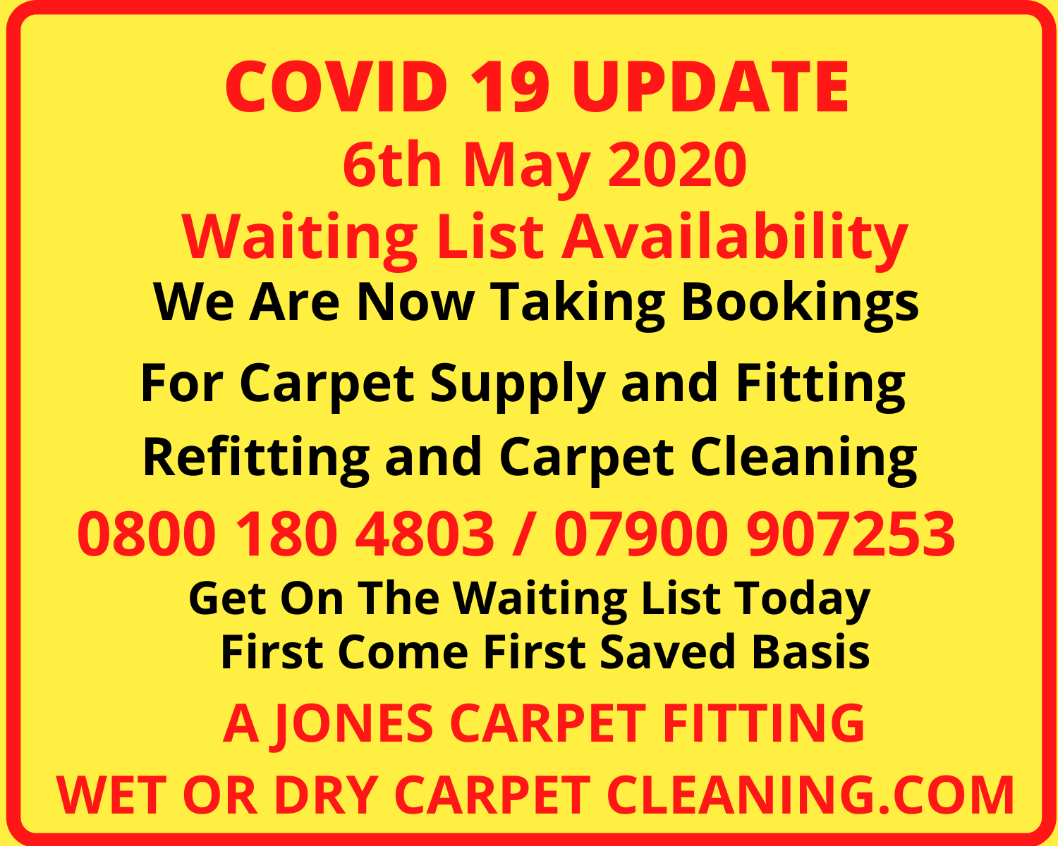 Carpet Fitting and Cleaning