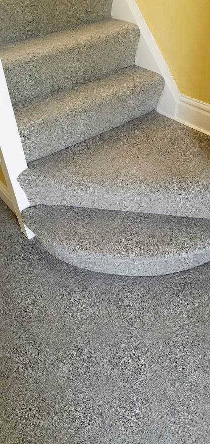 Stair Carpet on Bullnose
